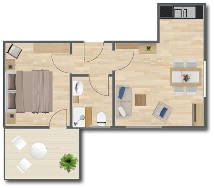 Apartment In Lee