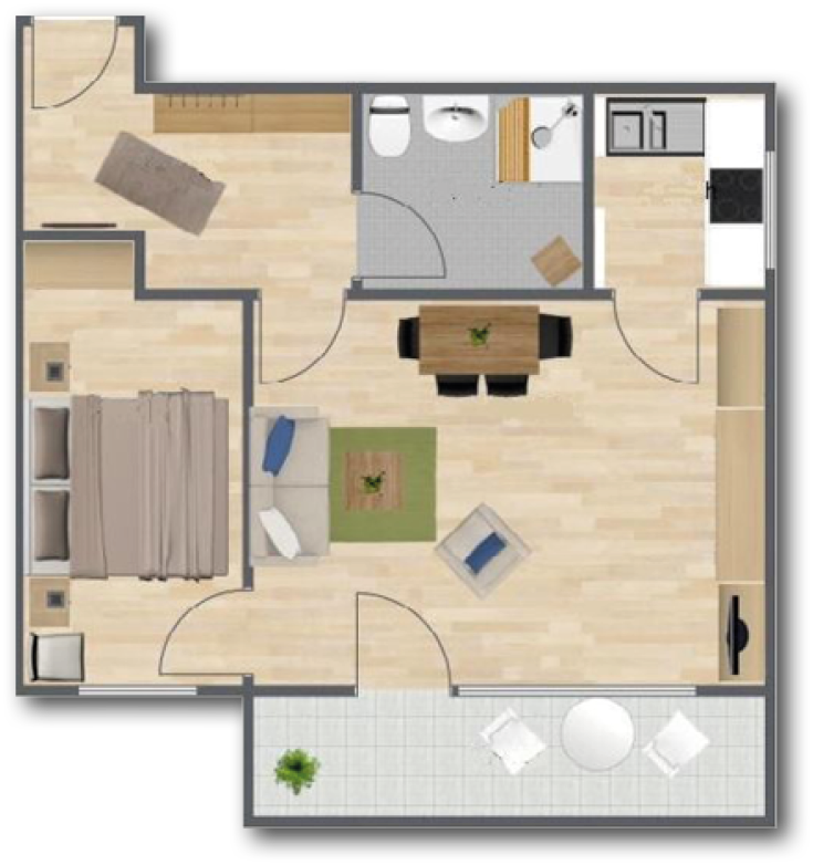 Apartment In Luv